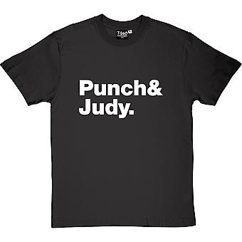 Punch and Judy Line-Up Men's T-Shirt