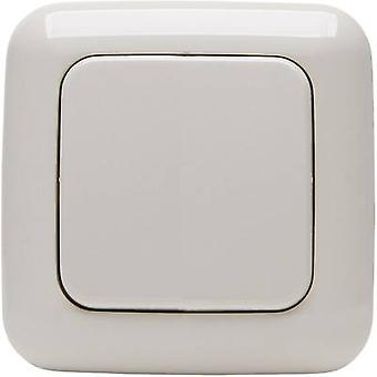 Free Control Wireless wall-mounted switch STANDARD 1/2 2-channel Cream-white