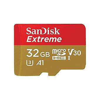 SanDisk Extreme microSDHC 32 GB + SD Ad