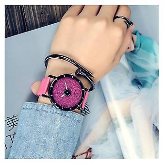 Smart Sparkle Glitter Watch Pink Shiny