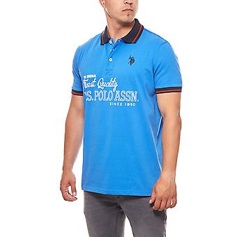 U.S. POLO ASSN. Polo T-shirt limited edition men's Royal