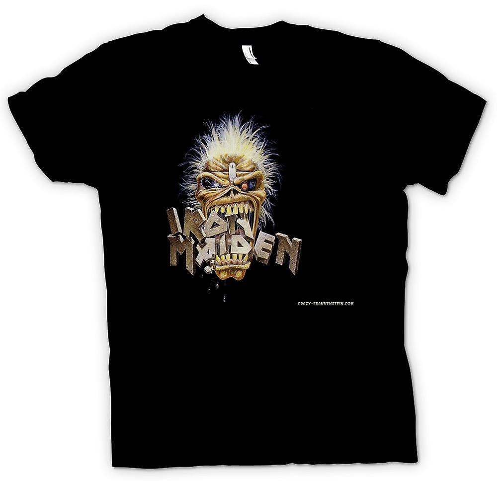 Womens T-shirt - Iron Maiden - Eddie Eating Words