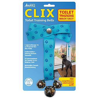 CLIX Toilet Training Bells for Puppies, Dogs