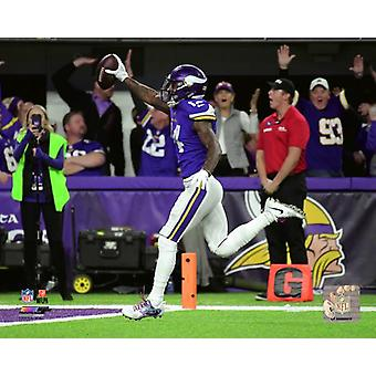 Stefon Diggs Game Winning Touchdown 2017 NFC Divisional Playoff Game Photo Print