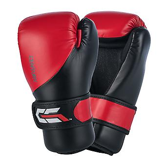 Siglo C engranaje Sparring guantes rojo