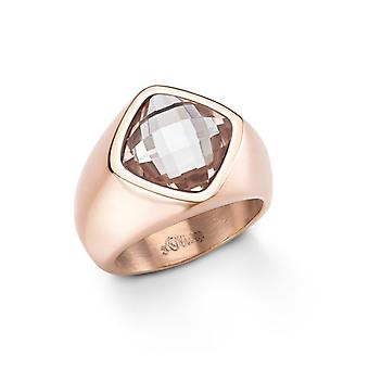 s.Oliver jewel ladies ring stainless steel IP Rosé Gr. 56 SO999 - 465373
