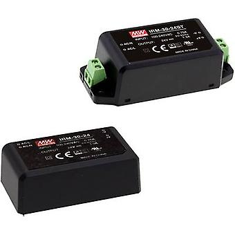AC/DC PSU (print) Mean Well IRM-30-12ST 12 V 2500 mA 30 W