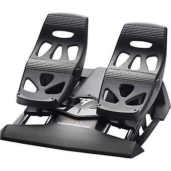 ThrustMaster TFRP T.Flight Ruder Pedale Pedal Bremsbelag USB, RJ12 PC PlayStation 4 Black