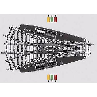 Puntos de 3-vías H0 Märklin K (sin la cama de la pista) 2270, simétrico 168.9 mm