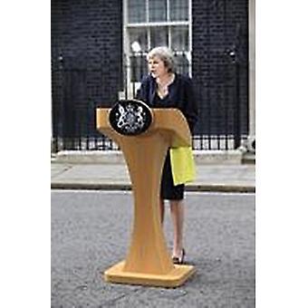 Theresa May Speech Fridge Magnet