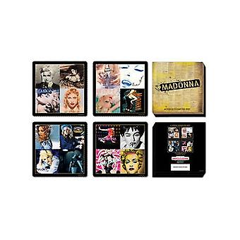 Madonna Boxed Set Of 4 Drinks Coasters
