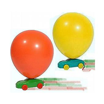 15 Assorted Balloon Racing Cars - Party Bag Fillers