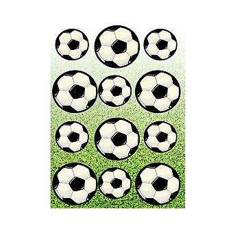 12 Football Sticker Sheets for Kids Party Bags | Kids Football Crafts