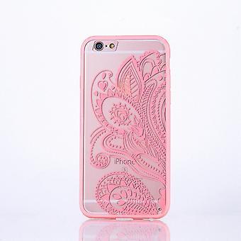 Mandala di Mobile Shell per Samsung Galaxy J3 2016 design Custodia cover motivo copertura caso paraurti fiore rosa