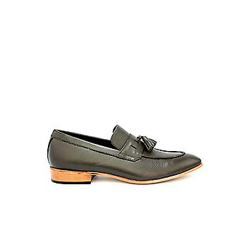 Handcrafted Premium Leather Viridine Loafer Mild Grey