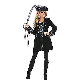 Luxury pirate Seeräuberin Supreme jacket costume for women