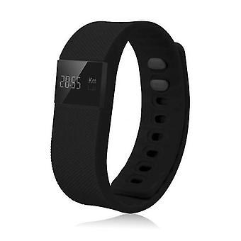 Zeug Certified® Original TW64 Smartband Sport Smartwatch Smartphone Watch OLED-iOS Android schwarz