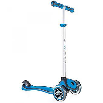 Globber Mini Micro Scooter - Primo Plus Mini Scooter - 3 Wheel Scooter - Sky