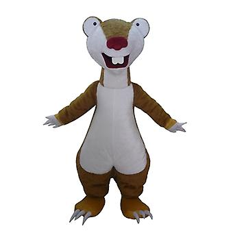 SPOTSOUND of Sid, the famous Brown lazy mascot in the Ice Age