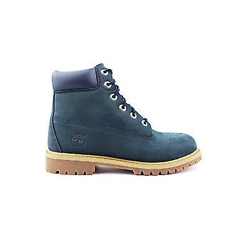 Timberland 6 Premium Waterproof Navy Blue 9497R universal winter women shoes