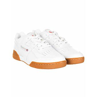Reebok Workout Plus Trainers - White/carbon/red