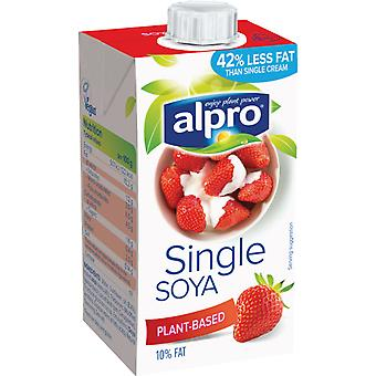 Alpro-Single-Sahne Soja-Alternative