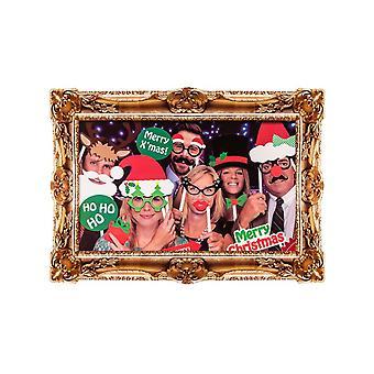 Navidad foto stand Kit con marco