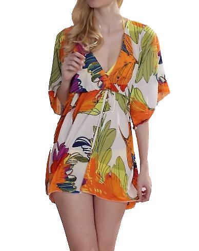 Waooh - Fashion - Dress floral printed beach