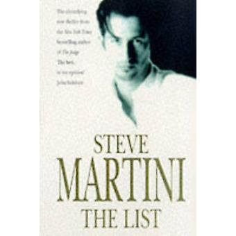 The List by Steve Martini - 9780747249962 Book