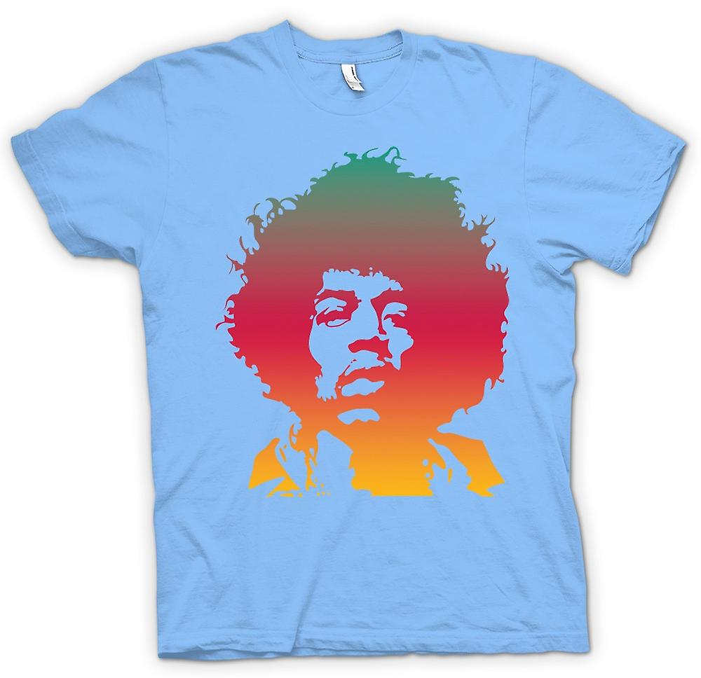 Mens T-shirt-Jimi Hendrix-Cool-Portrait