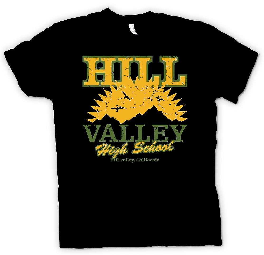 Kids T-shirt - Hill Valley High School - Back to The Future geïnspireerd