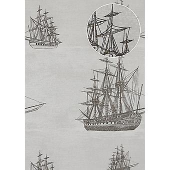 Non-woven wallpaper ATLAS SIG-584-5