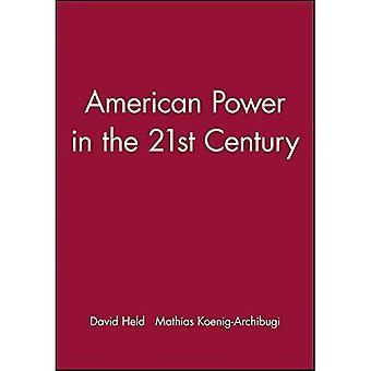 Puissance américaine au XXIe siècle