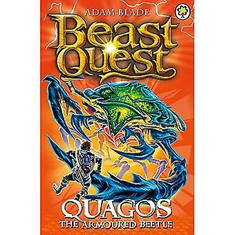 Beest Quest: 86: Quagos de gepantserde kever