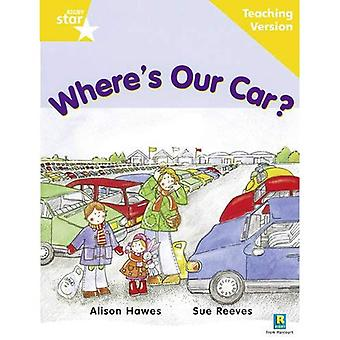 Where's Our Car?: Yellow Level (Rigby Star Guided)