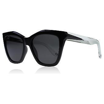 Givenchy 7008/S AM3 svart / blå / hvit 7008/S kvadrat solbriller linse kategorien 3 nr 53