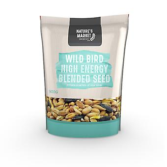 Natures Market 0.9kg (2 lbs) Bag of High Energy Feed Wild Bird Food