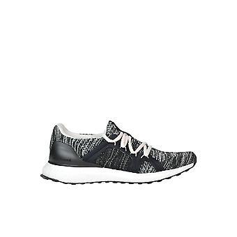 Stella Mccartney Black Fabric Sneakers