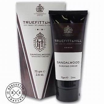 Truefitt and Hill Sandalwood Shaving Cream Tube 75g