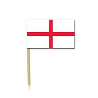 Union Jack Wear England St George Flag Party Picks - Pack Of 50