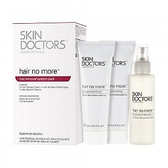 Skin Doctors Hair No More System - Hair Removal Pack - 2 x Removal Cream + 1 x Inhibitor Spray