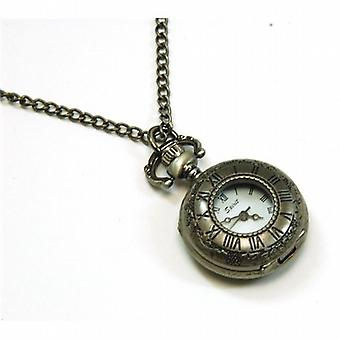 Spirit Silver Coloured Antique style Ladies Pendant Watch ASPL33