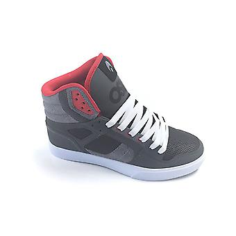 Osiris Charcoal-Pat-Red Clone Shoe