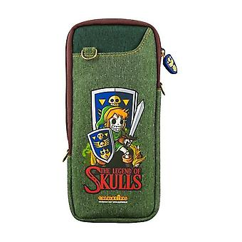 Zelda: day of the dead portable protective bag (nintendo switch)