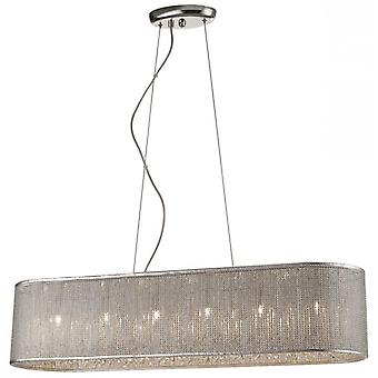 Decorative Luminaire In Chrome And Sliver