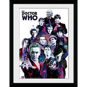 Doctor Who Cosmos oprawione Collector wydruku 40x30cm