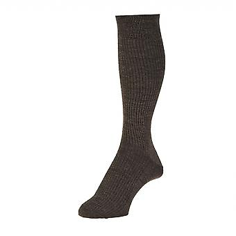 Mens Pack Of 2 Wool Rich Immaculate Sock Hj Hall