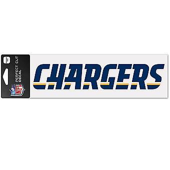 Wincraft Aufkleber 8x25cm - NFL Los Angeles Chargers