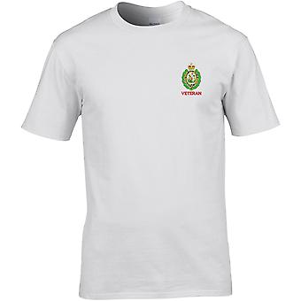 Royal Regiment Of Fusiliers Crest Veteran - Licenza British Army Ricamato Premium T-Shirt
