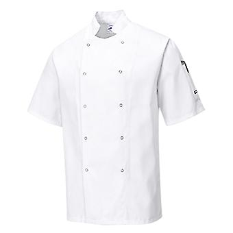 Portwest cumbria chefs jacket c733